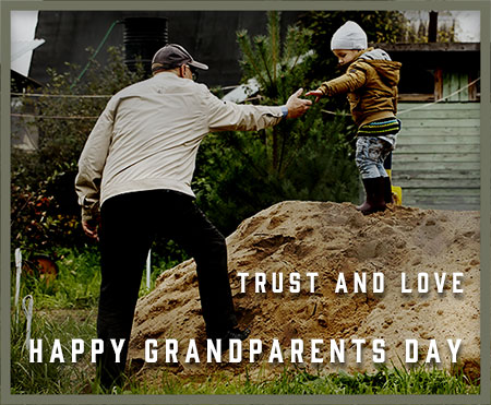 trust and love grandparents