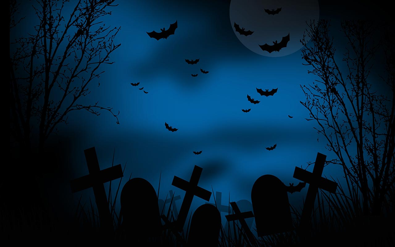 scary graveyard - Halloween Background Images Free