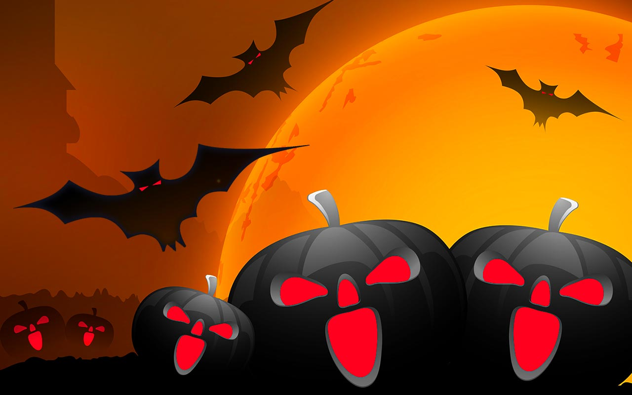 Free Halloween Backgrounds - Wallpapers