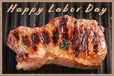 Happy Labor Day grilling
