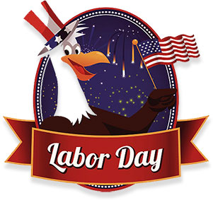 Happy Labour Day! Holiday On Canada. Abstract Grunge Watercolor.. Royalty Free  Cliparts, Vectors, And Stock Illustration. Image 127951714.