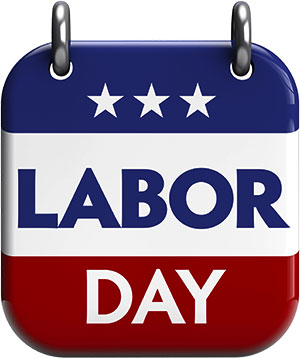 image about Closed Labor Day Printable Sign called Labor Working day Clip Artwork - Gifs and JPEGs