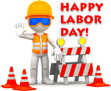Happy Labor Day worker