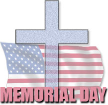 memorial day cross