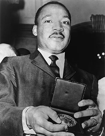 Martin Luther King Jr. medallion 1964