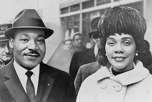Martin Luther King, Jr. - Coretta Scott King
