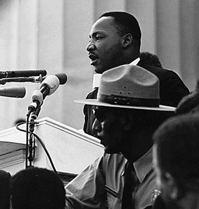 MLKJ photo I Have A Dream speech