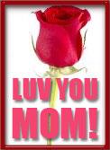 luv you mom