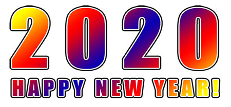 Happy New Year Clipart 2020 87