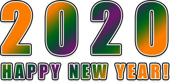 Happy New Year Clipart 2020 88
