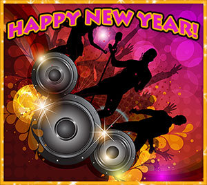 Happy New Year dance