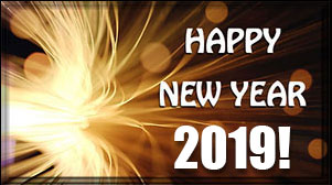Happy new year photo frame 2019 online free