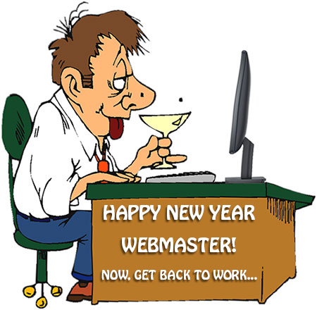 happy new year webmaster