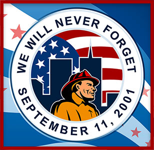 we will never forget 9-11