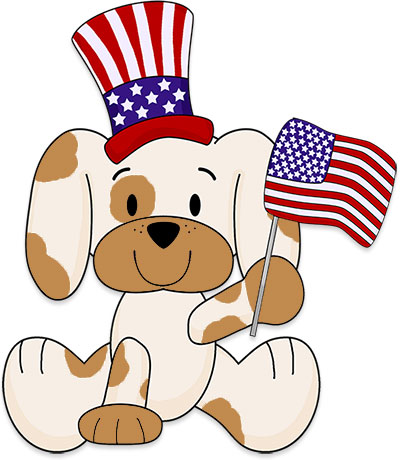 presidents day puppy