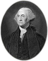 portrait Georgs Washington