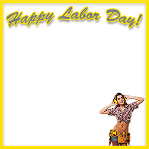 Happy Labor Day female worker