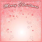 Merry Christmas pink holiday design