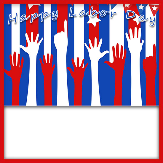 image about Closed Labor Day Printable Sign titled Cost-free Labor Working day Borders - Clipart