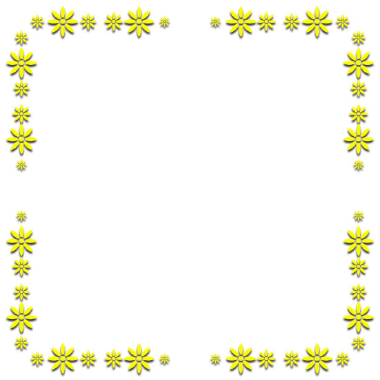 free yellow borders - yellow border clipart