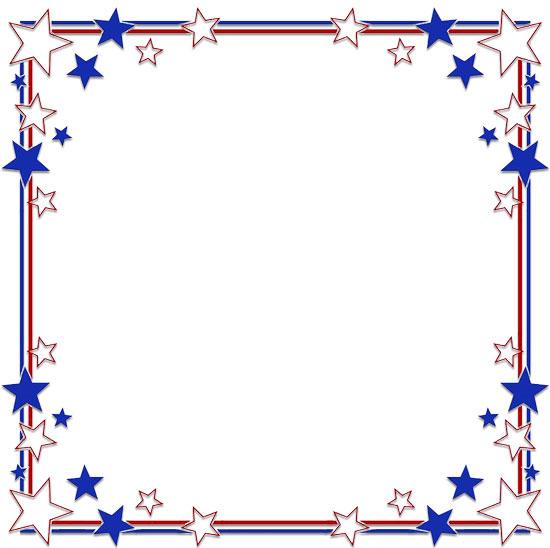 Stars Border Cool Frames/star - Blue Frame Clipart, HD Png Download -  kindpng