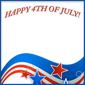 4th Of July Clipart Border