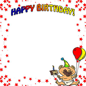 Free birthday borders happy birthday border clip art happy birthday boy m4hsunfo
