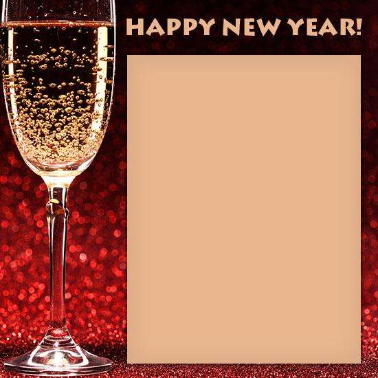 free happy new year borders