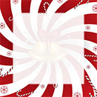 candy canes snowflakes