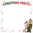 Christmas party border