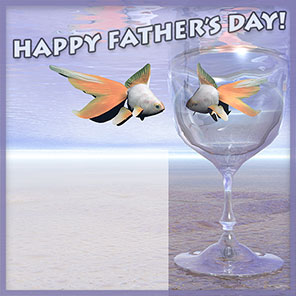 Father's Day and fish