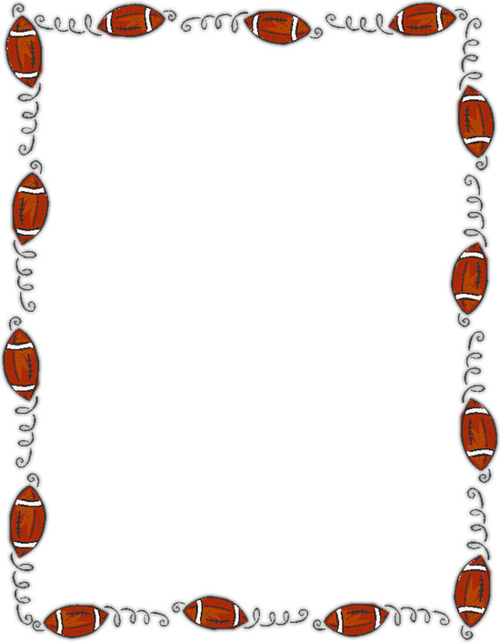 Free Borders - Brown and White Border Clipart - Frames