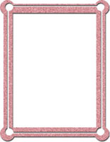 Rectangle frame with pink swirl pattern