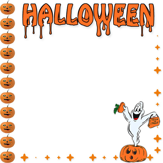 Halloween Borders - Free Happy Halloween Border Clip Art