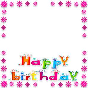 free birthday borders happy birthday border clip art rh fg a com birthday balloon border clip art 50th birthday border clip art