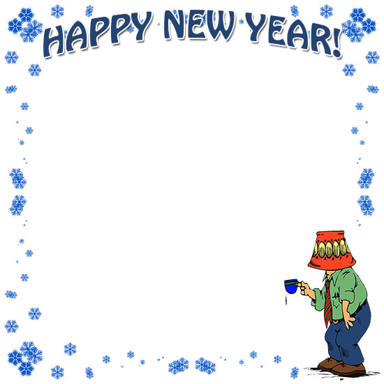 free happy new year borders new year border clip art 2021 new year border clip art