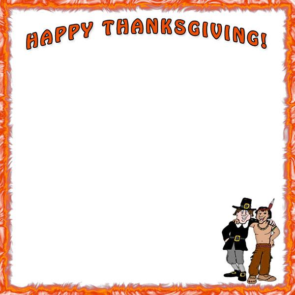 Free Thanksgiving Borders - Happy Thanksgiving Border Clip Art