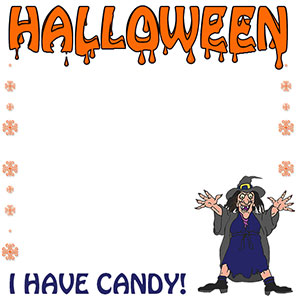 I Have Candy - Halloween