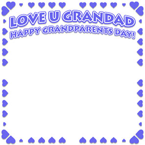 Free Grandparents Day Borders Happy Grandparents Day