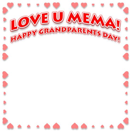 Free Grandparents Day Borders Happy Grandparents Day