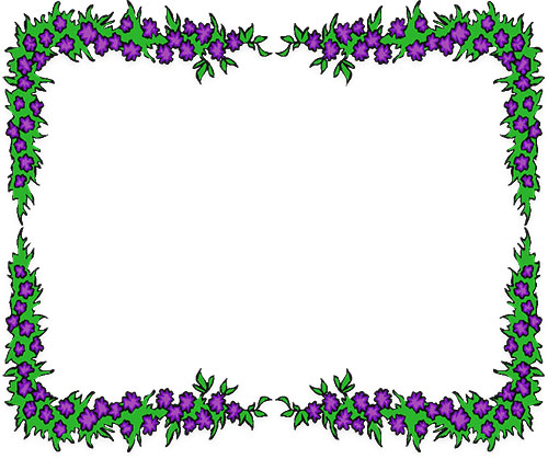 free flower borders flower border clipart rh fg a com clip art flower borders for adults clip art flower borders black and white
