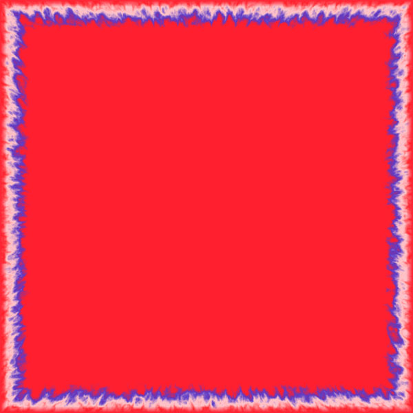 border frame red and blue