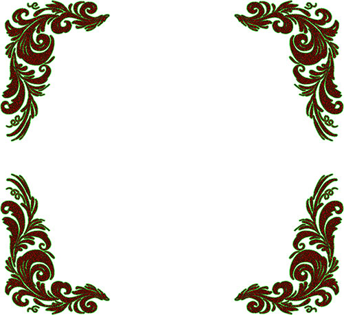 Islamic Corners Ornamentsart also Tlc Die together with Flowers Butterflies likewise Flowers Corner Frame Download Royalty Free Vector File Eps moreover Water Flowers Border. on blue border corners clip art