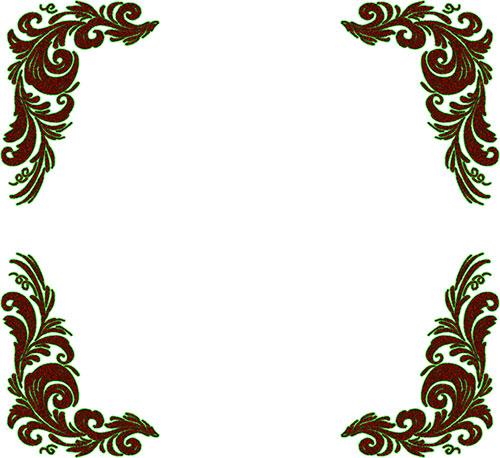 Border Designs Png Photo Background - Simple Clipart Border Design,  Transparent Png - kindpng