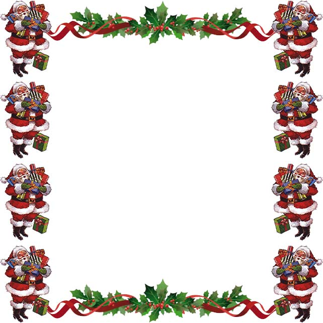 christmas boders  Free Christmas Borders