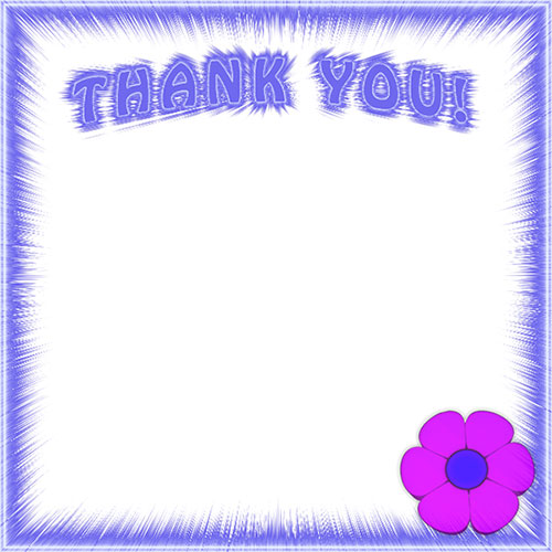 thank you borders free thank you border clip art