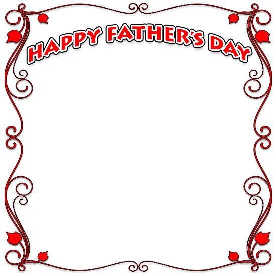 Fathers Day Borders - Happy Father\'s Day Border Clip Art - Free