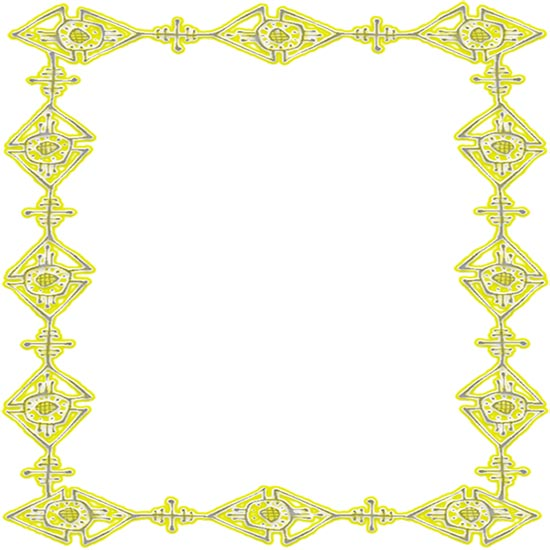Free Yellow Borders - Yellow Border Clipart - Frames
