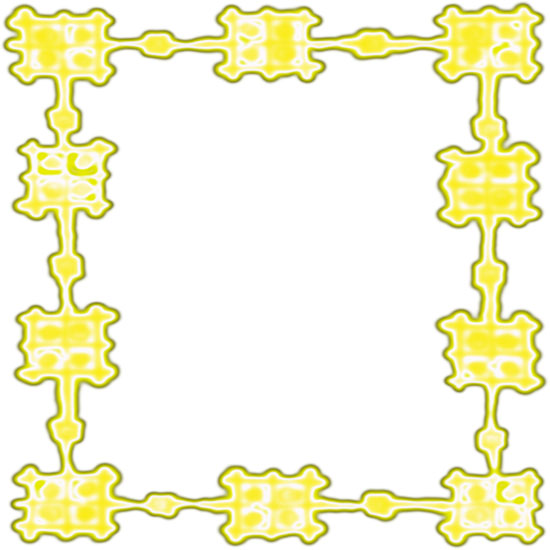 yellow border frame design