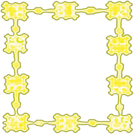 Free Yellow Borders - Yellow Border Clipart - Frames
